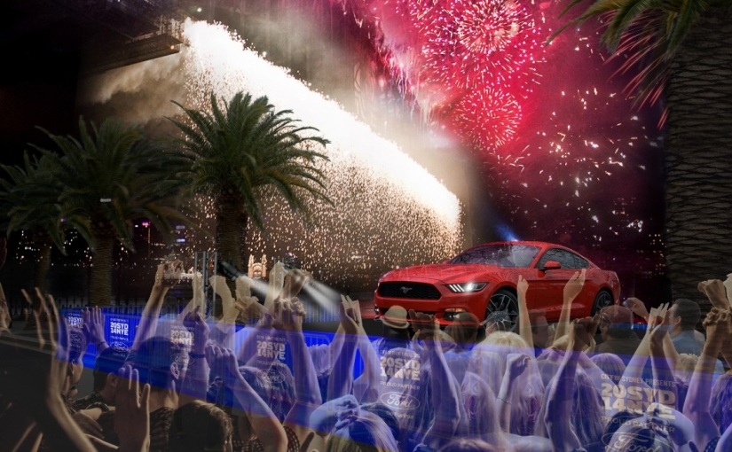 'Mustang' Paces Ford's Transformation And Exciting New Line-Up By Starring At Sydney NYE2014 – 'Inspire'