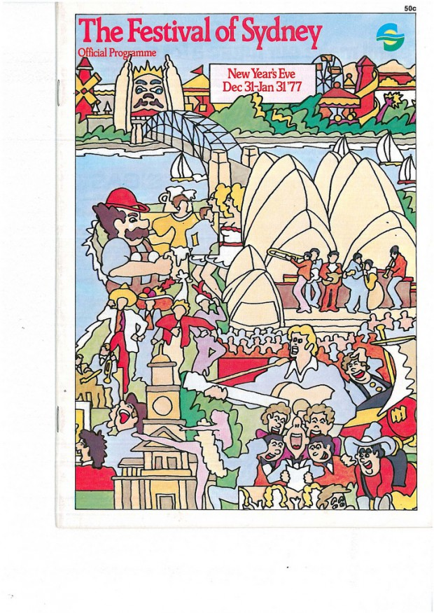 The Festival Of Sydney 1976-1977 Official Programme Image: Sydney Festival