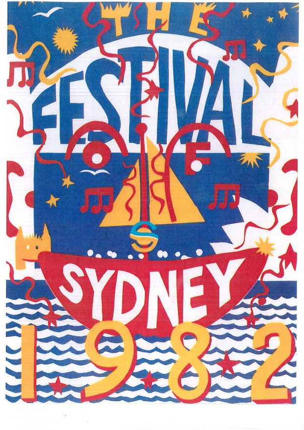 The Festival Of Sydney 1981-1982 Official Programme Image: Sydney Festival