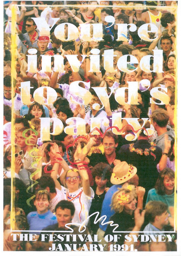 The Festival Of Sydney 1990-1991 Official Programme Image: Sydney Festival