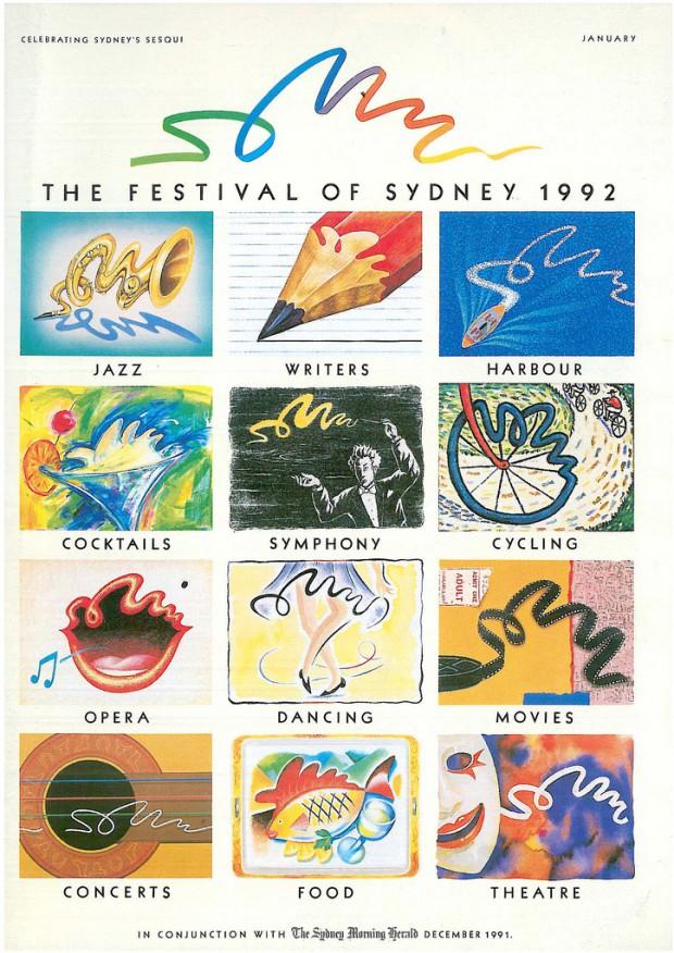 The Festival Of Sydney 1991-1992 Official Programme Image: Sydney Festival