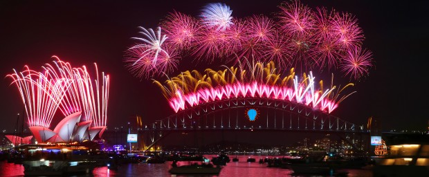 Sydney Lights Up The World