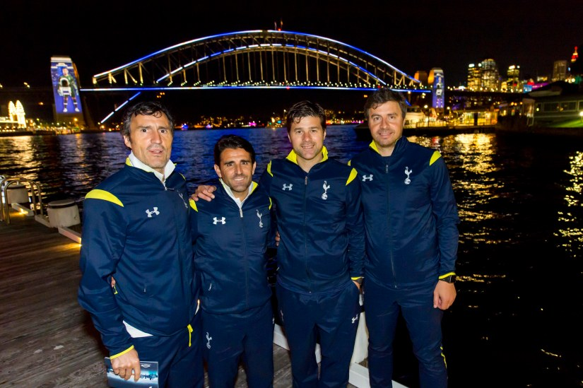 Sydney Lights Up For Tottenham Hotspur FC