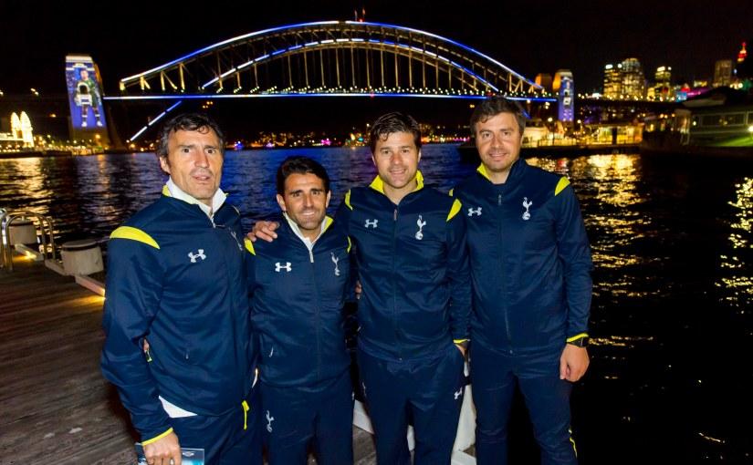Sydney Lights Up For Tottenham HotspurFC