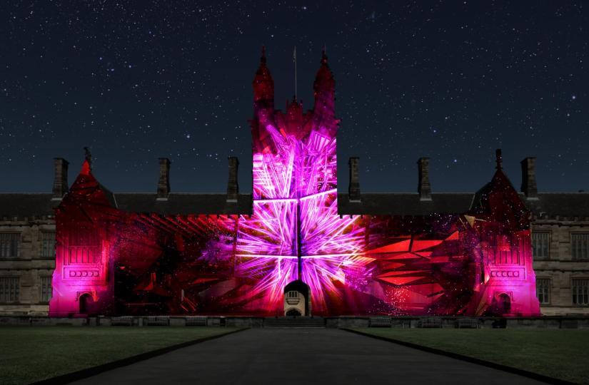University Of Sydney Lights The Way For VividSydney
