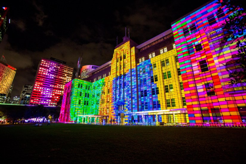 One Day To Go! Vivid Sydney Enchants Crowds In Circular Quay And The Rocks