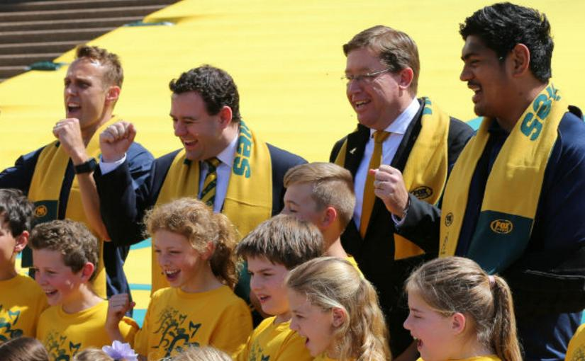 Sydney Opera House Going Green & Gold For Rugby World CupFinal