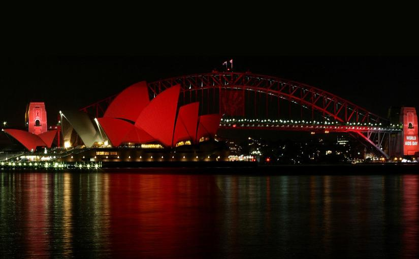 Painting The Town Red For Sydney Chinese New YearFestival