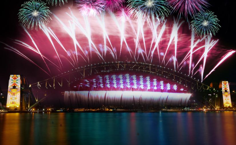 More Fireworks Than Ever On The Sydney Harbour Bridge