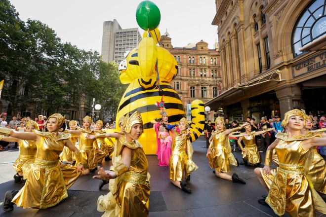 Sydney - February 10, 2016: City of Sydney's Chinese New Year Festival celebrations in Sydney, Australia (Photo by Jamie Williams/City of Sydney)