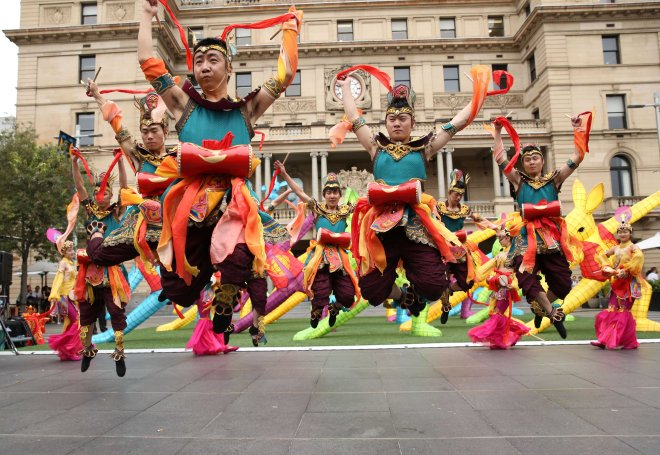 City of Sydney's Chinese New Year celebrations on the 11th February 2016. Photo by DAMIAN SHAW / CITY OF SYDNEY