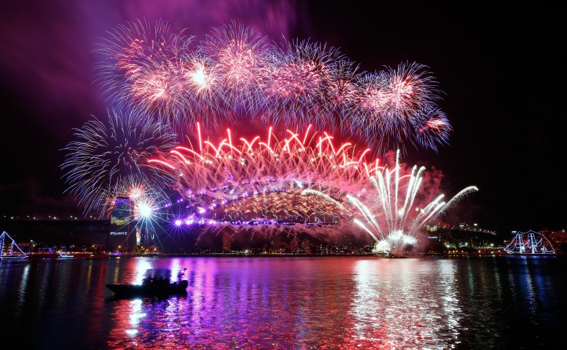 Sydney Lights Up To Welcome In The New Year