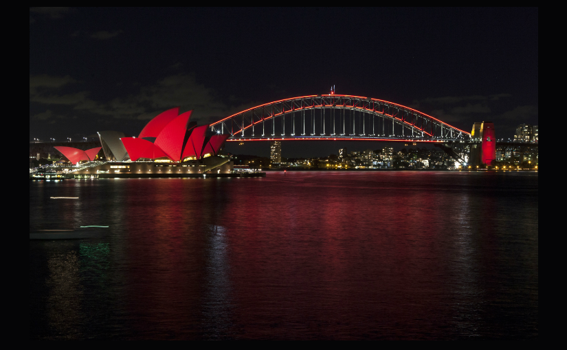 Sydney Icons Light Up For Lunar New Year