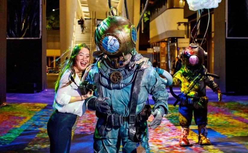 Spotlight: Barangaroo's 'Vivid Sydney' Debut Delivers A Feast For All TheSenses