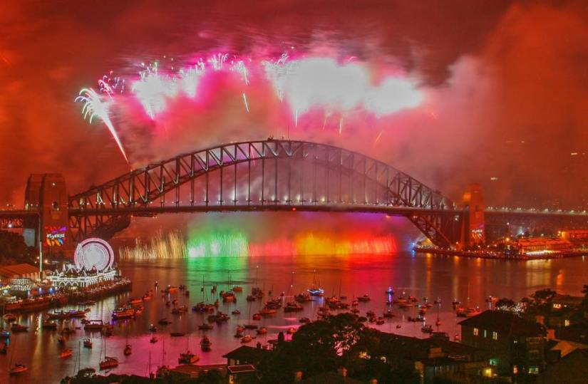 Fireworks Countdown A New YearCracker