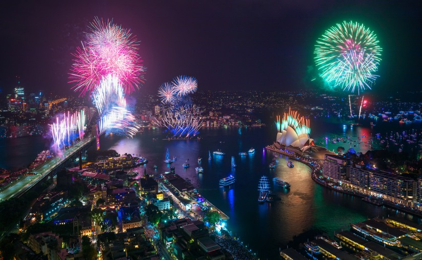 2020 Arrives In Sparkling Sydney Style